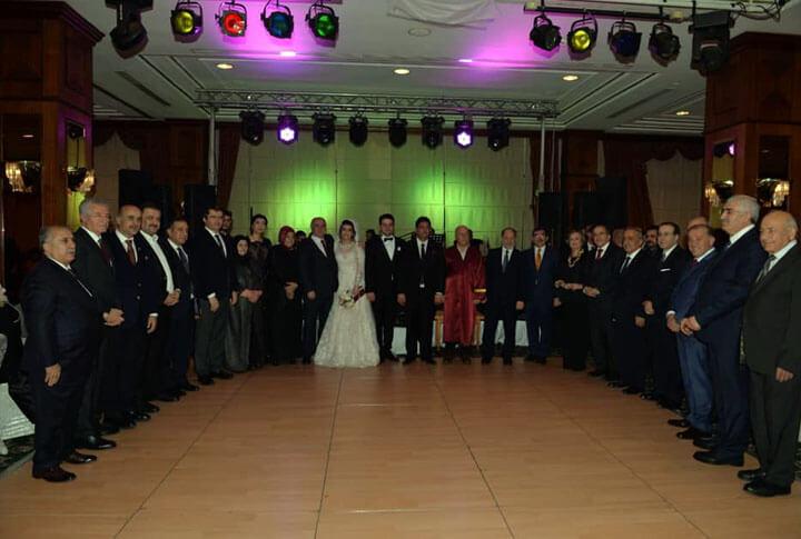 Erzurum Milletvekili Adnan Yılmaz'ın Kızı Evlendi