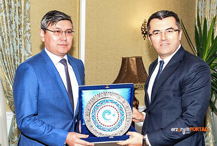 Erzurum'da, Kazakistan İle Ticaret Neden Olmasın?