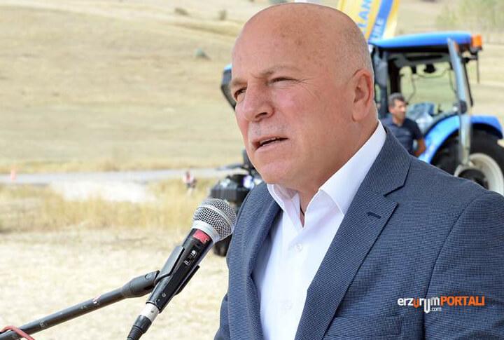 Erzurum Büyükşehir Belediye Başkanı Mehmet Sekmen