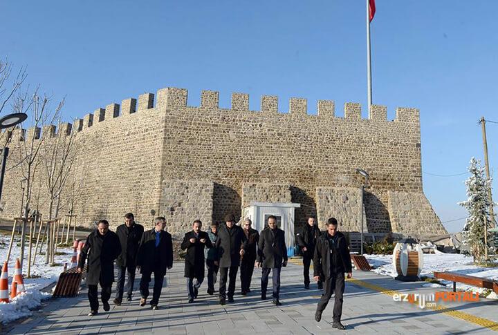 Erzurum Valisi Okay Memiş Gezi