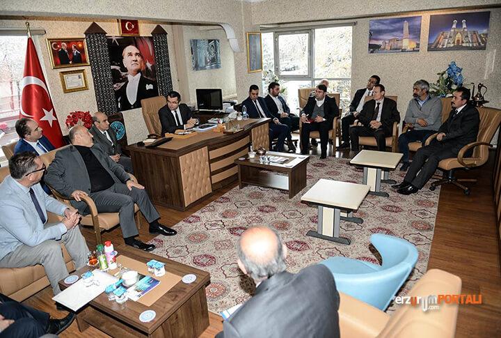 Erzurum Valisi Toplantı