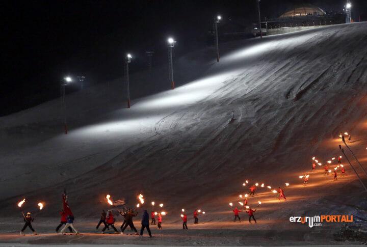Kayak Sezonunu Açan Palandöken'den Kareler!