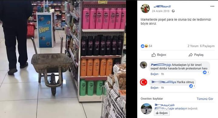 Sosyal Medyada Naylon Poşet Gündemi