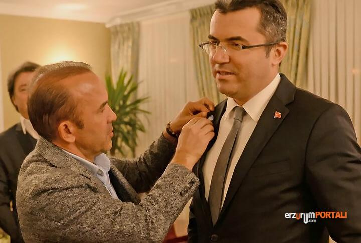 B.B. Erzurumspor Teknik Direktörü Özdilek'ten Vali Ziyareti