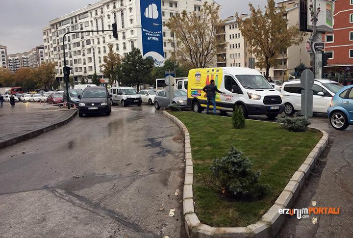 Erzurum Gez Mahallesi Kuşkay Kavşağı