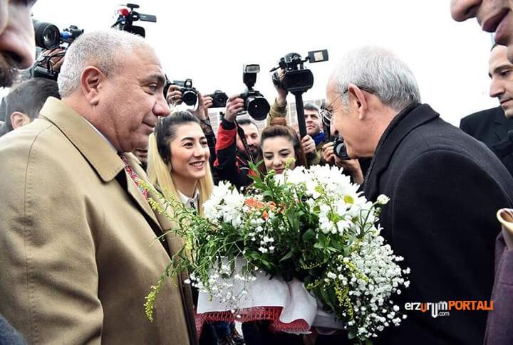 CHP Genel Başkanı Yerel Seçim Startını Erzurum Çat'tan Veriyor!