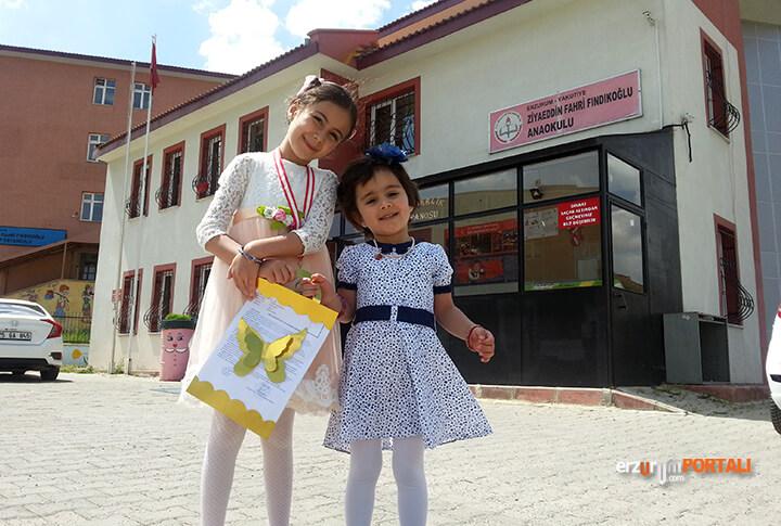Erzurum'da Karne Heyecani
