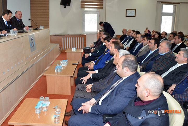 TOBB Başkanı Hisarcıklıoğlu Erzurum'da
