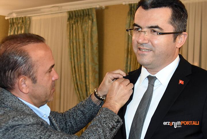 Vali Okay Memiş Erzurumspor Şifo Mehmet