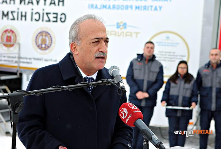 Atatürk Üniversitesi Rektörü Prof. Dr. Ömer Çomaklı