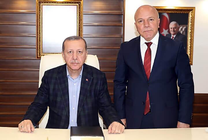 Erzurum Büyükşehir Belediyesi Mehmet Sekmen