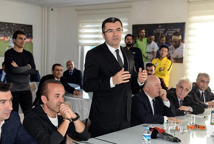 Validen B.B. Erzurumspor'a Ziyaret