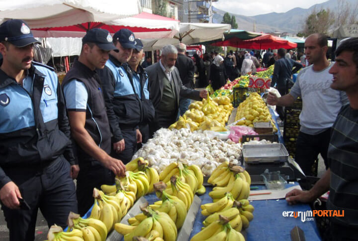 Erzurum Zabıtası Sahada