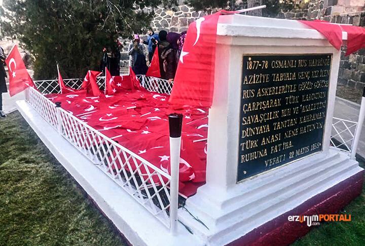 Erzurum Aziziye Tabyalarına Yürüdü!
