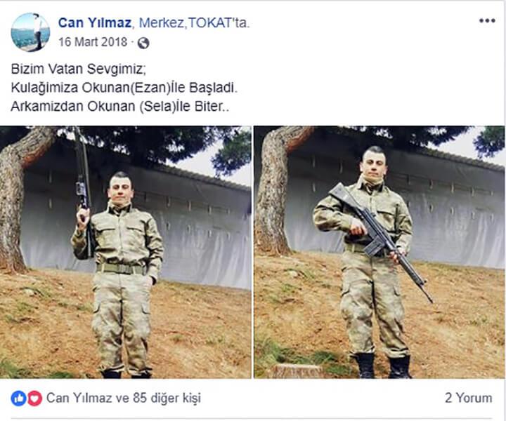 Terhisine 3 Gün Kala Şehit Olan Yılmaz'ın Sosyal Medya Paylaşımları!