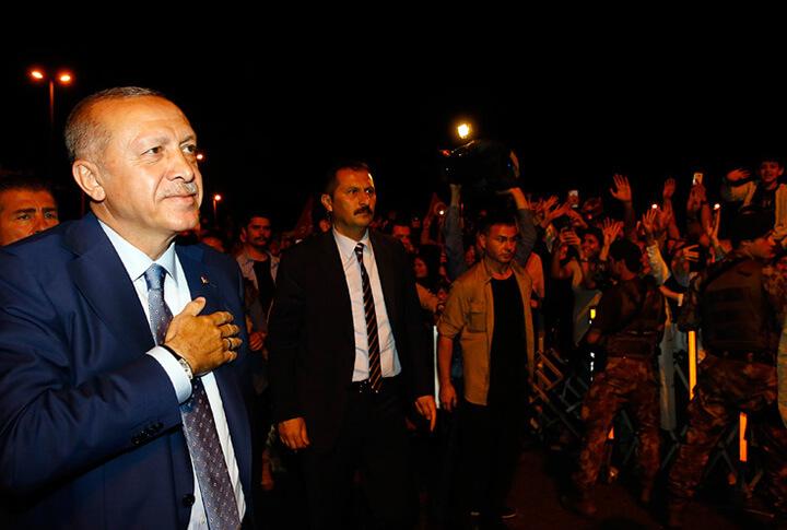 Erdoğan'a %90 Oyun Çıktığı İlçe!