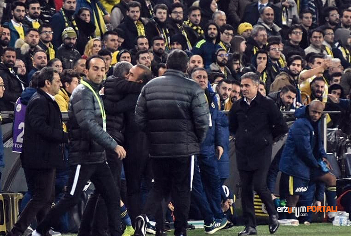 B.B. Erzurumspor Fenerbahçe'yi Kümeye İtti!