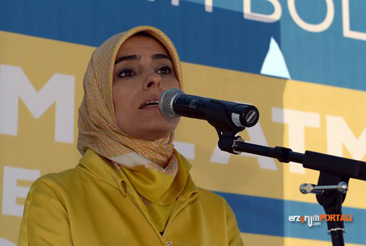 AK Parti MKYK Üyesi ve Erzurum Milletvekili Zehra Taşkesenlioğlu