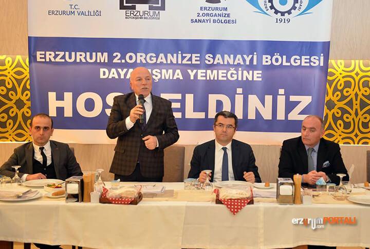 Mehmet Sekmen Erzurum OSB Toplantı