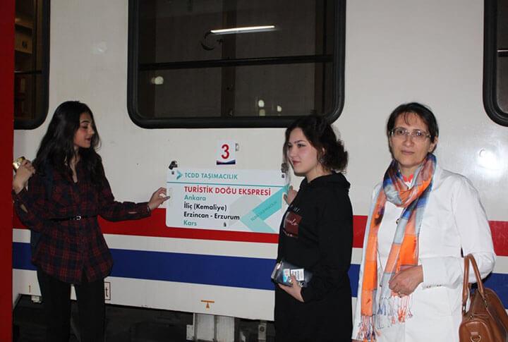 Turistik Trenin 4 Saatlik Erzurum Molası