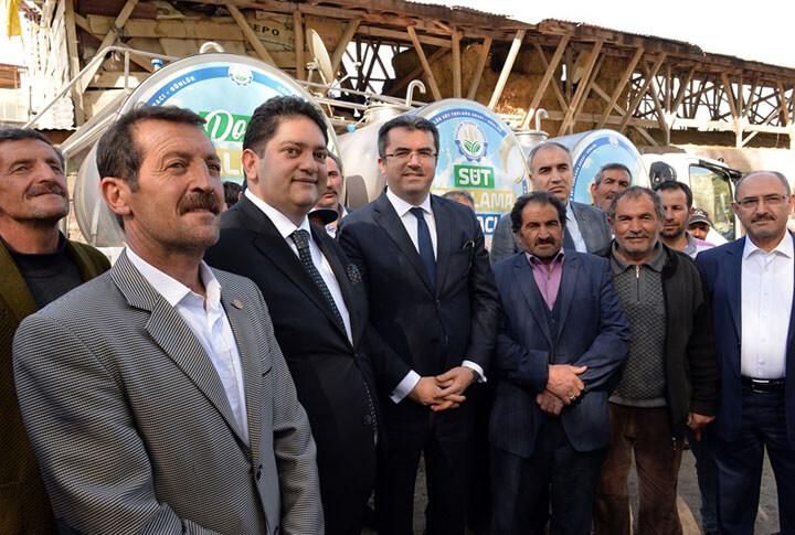 Erzurum ili Süt Sektörü Soğuk zincir Süt Kurulumu Projesi