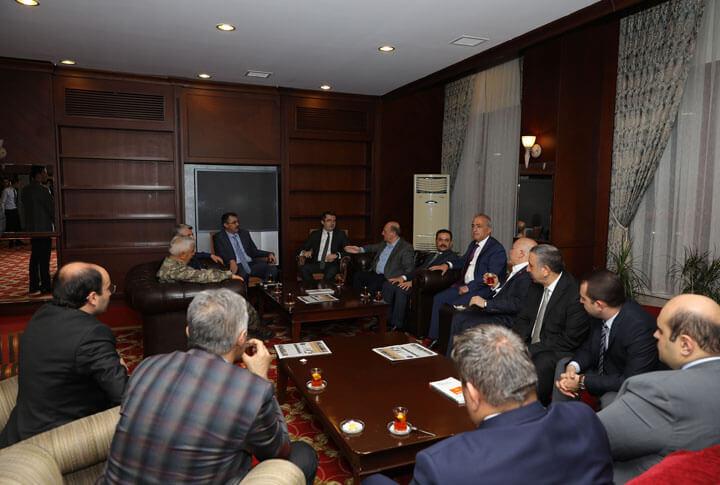 Erzurum Protokolü İftar Davetinde Bir Araya Geldi