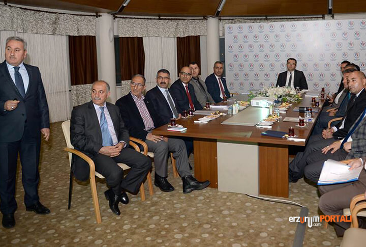 Erzurum Valisi Okay Memiş Ziyaret
