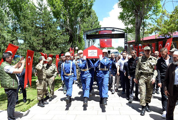 Erzurum'da Şehit Yunus Çelebi