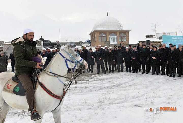 Binbir Hatimler 500'üncü Yılında Erzurum'da, At Sırtında Okunmaya Başladı!