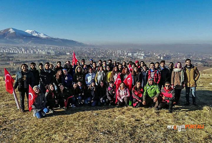 Erzurum Aziziye Tabyalarına Yürüyor