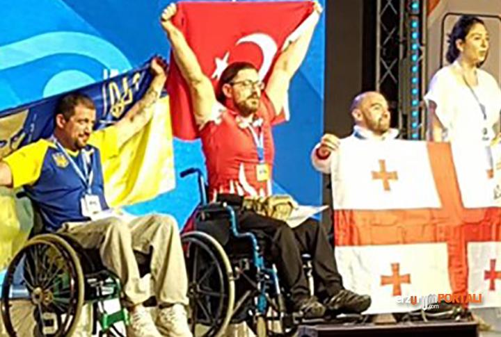 Erzurumlu Bilek Güresi Sampiyonu Gökhan Seven
