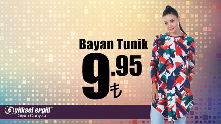 Erzurum Yüksel Ergül Giyim Dünyası Kampanyası