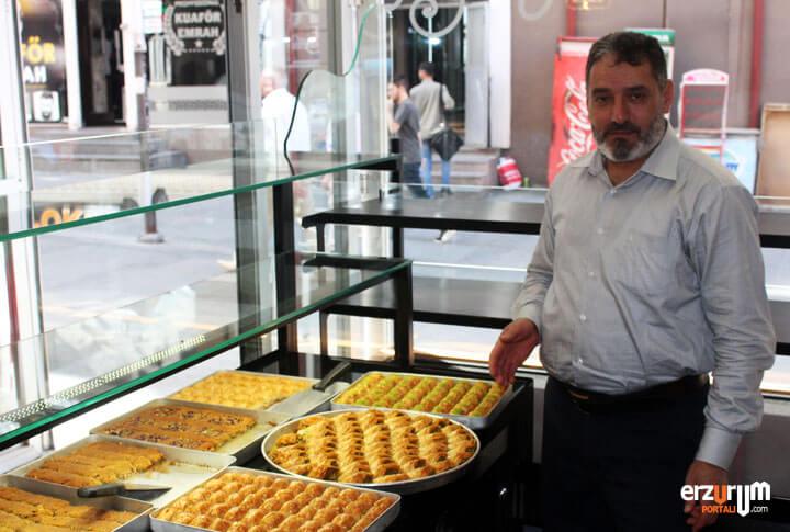 Erzurum Meşhur Künefeci Ahmet Usta