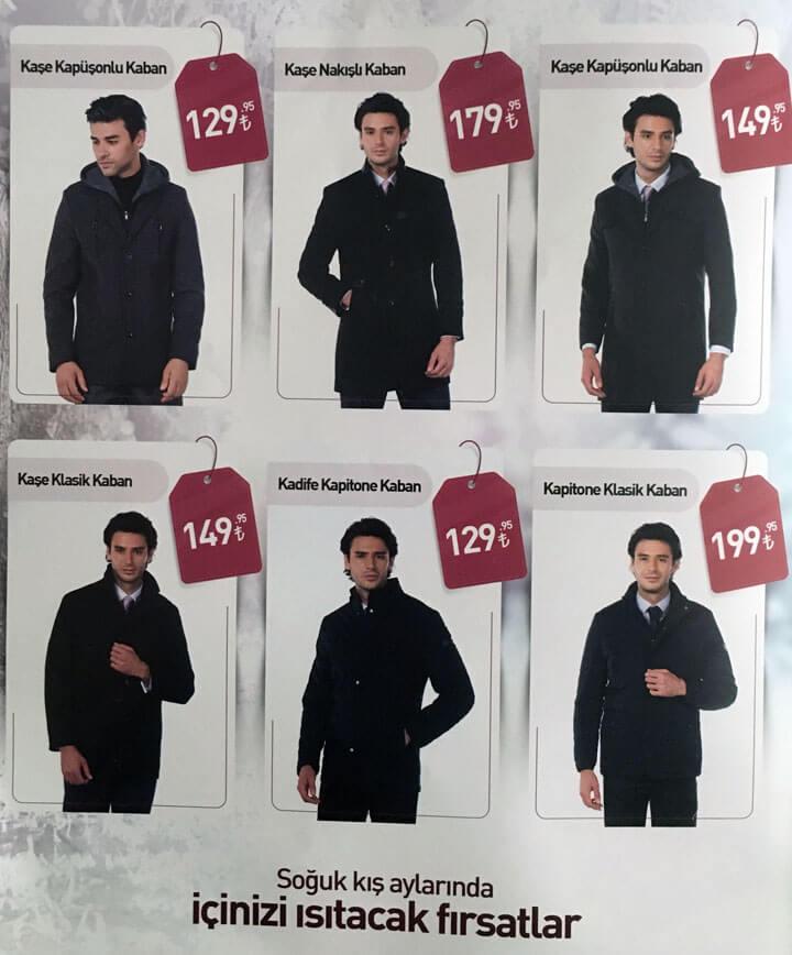 Erzurum Giyim Dünyası Kış Kampanyası